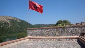 albanische-flagge