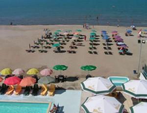 Strand vom Hotel Oaz