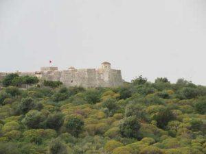 Burg Porto Palermo Albanien